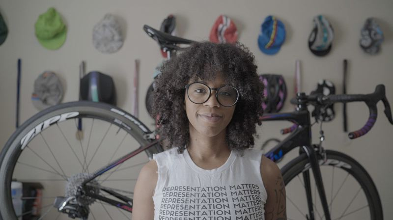 COURTESY PHOTO - The inaugural High Vis Film Festival, featuring bike films by Black, Indigenous and people of color filmmakers, will include 'Do Better Together' by Shelma Jun