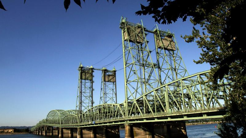 COURTESY PHOTO: KOIN 6 NEWS - The Oregon Department of Transportation has completed a major I-5 Bridge project ahead of schedule.