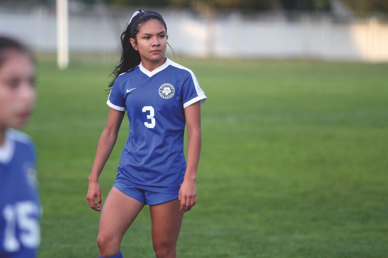PMG FILE PHOTO - Woodburn senior Yahaira Rodriguez is one of 18 student athletes from Oregon to be named to the 2020 Girls Soccer All-American watch list. Rodriguez was a First Team All-State selection in 2019 and scored the game-winning goal in the Bulldogs' 1-0 victory over Marist in the state championship.