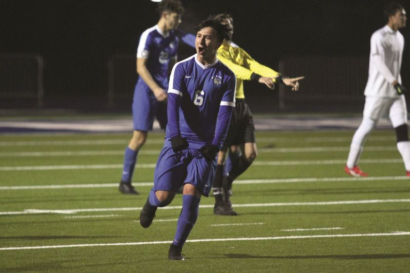 PMG FILE PHOTO - Woodburn senior Ricardo Hernandez was named to the 2020 Boys Soccer All-American watch list after helping guide the Bulldogs to their fourth consecutive state championship in 2019, and seventh title in the past 10 years.