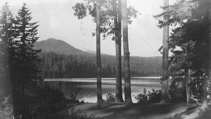 PHOTO COURTESY OF BOWMAN MUSEUM  - In the early 1900s, the waters of Suttle Lake were targeted by Grandview settlers for irrigation.