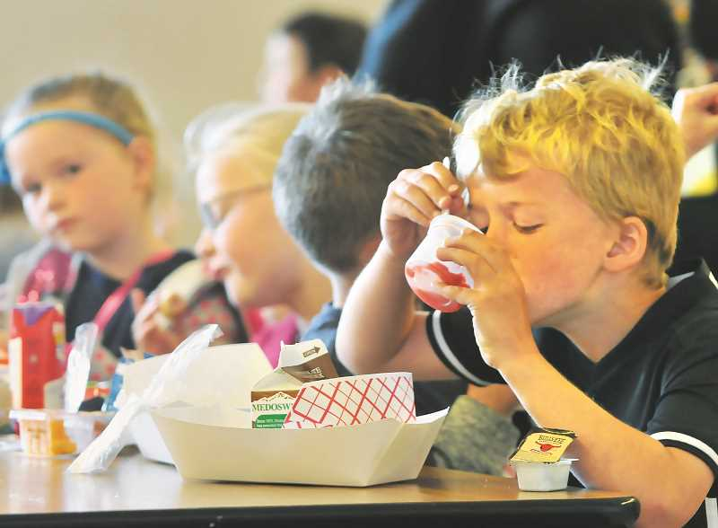 PMG FILE PHOTO - With federal approval, the Oregon Department of Education and Oregon Department of Human Services are teaming up to feed students in need throughout the state through a program that brings in federal dollars.