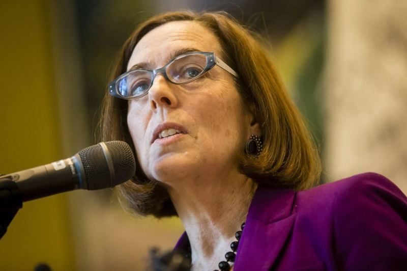 PMG FILE PHOTO - Gov. Kate Brown is one of 11 governors to issue a letter, Wednesday, Sept. 30, warning about efforts by President Trump to delegitimize the November election.