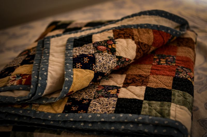 COURTESY PHOTO: NATHAN BANG ON UNSPLASH - An upcoming event will connect those impacted by the Riverside Fire with quilts.