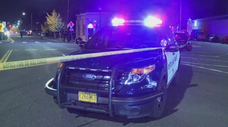 KOIN 6 NEWS - A Portland police vehicle.