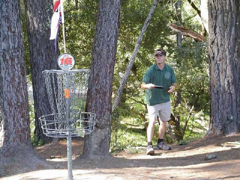 COURTESY PHOTO - Organizers have been working over the summer to help raise money to install a disc golf course at Jan Lafollette Park in Hubbard.