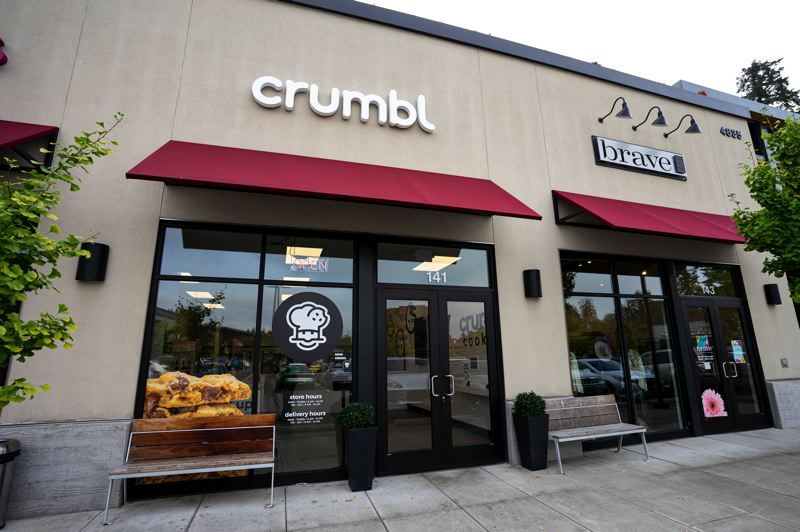 PMG PHOTO: CLARA HOWELL  - Crumbl opened in Kruse Village in Lake Oswego Sept. 17.