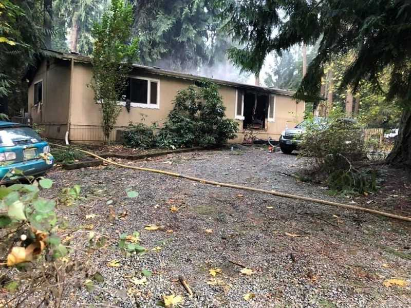 COURTESY PHOTO: MOLALLA FIRE - Fire agencies in Oregon responded to 2,790 home fires in 2019. Cooking was the leading known cause of residential structure fires over the past five years.