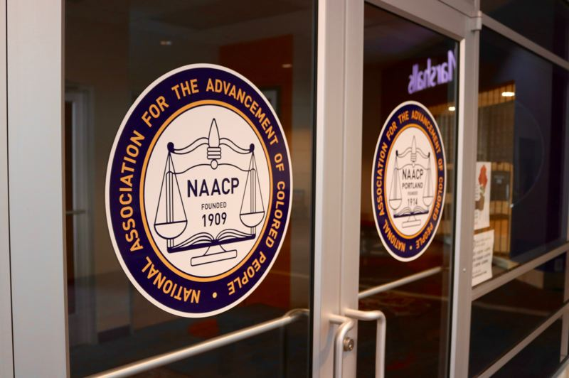 FILE PHOTO - After 50 years without physical offices, the Portland chapter of the NAACP moved into a space on the second level of the Lloyd Center mall.