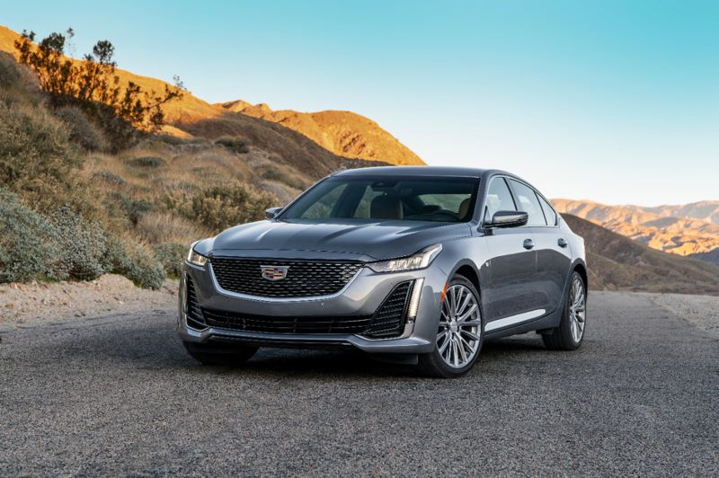 COURTESY CADILLAC - The 2020 Cadillac CT5 Luxury Premium is a striking and affordable luxury sport sedan with an available twin-turbocharged V6 and all=wheel-drive.