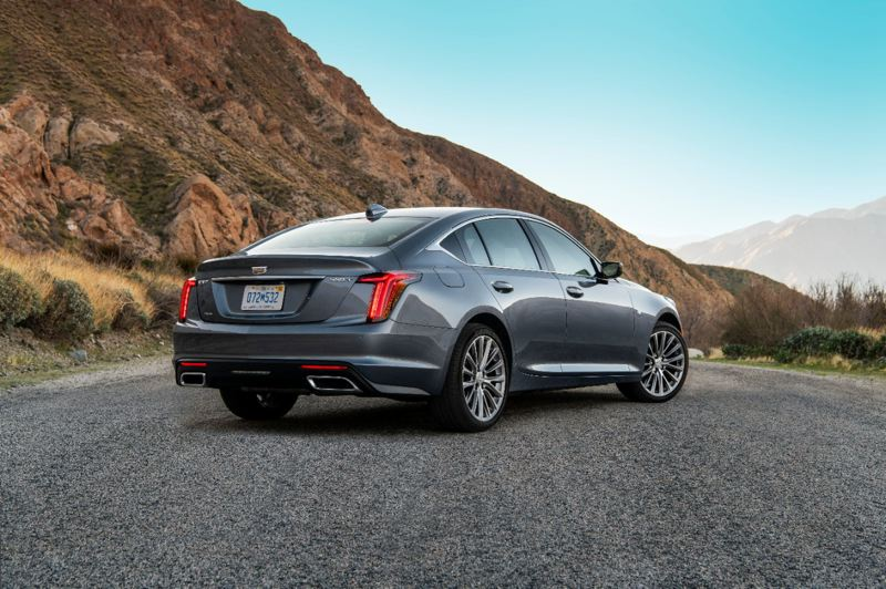 COURTESY CADILLAC - Cadillac says the fastback styling of the 2020 CT5 is inspired by their cars from the 1940s.