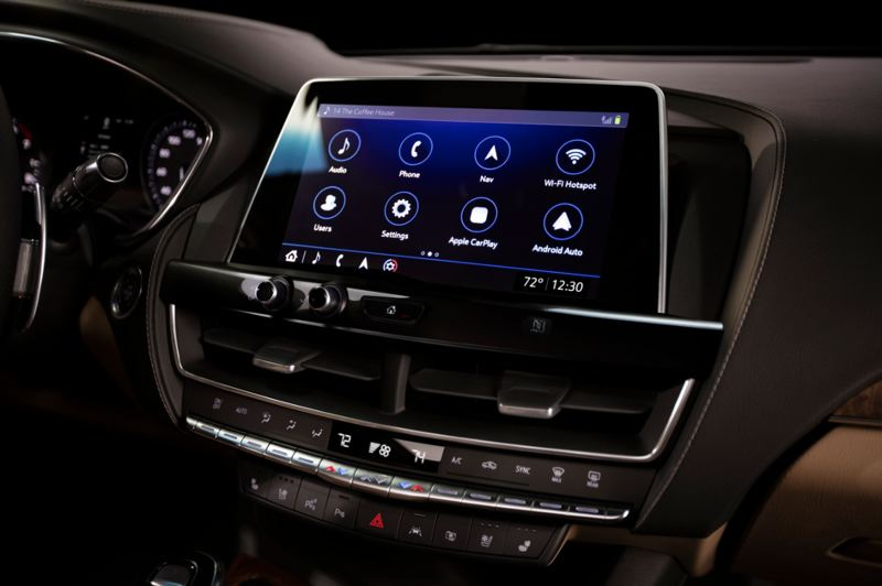 COURTESY CADILLAC - The infortainment system in the 2020 CT5 is the best ever offered by Cadillac.