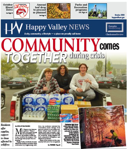(Image is Clickable Link) Happy Valley News Oct 2020