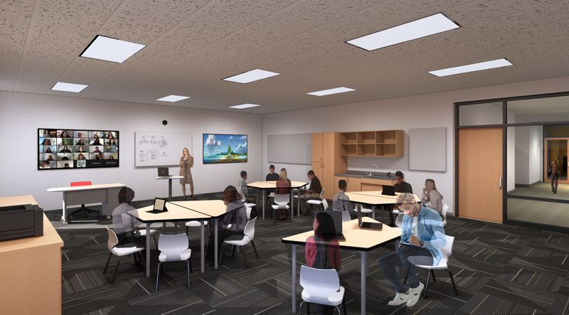 COURTESY PHOTO: ESTACADA SCHOOL DISTRICT - Funds from the Estacada School District would bring increased technology infrastructure into classrooms.