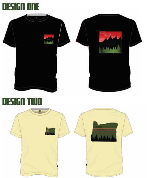 COURTESY PHOTO - Keep Oregon Green and Prevent Wildfires shirts will benefit firefighters in Colton.