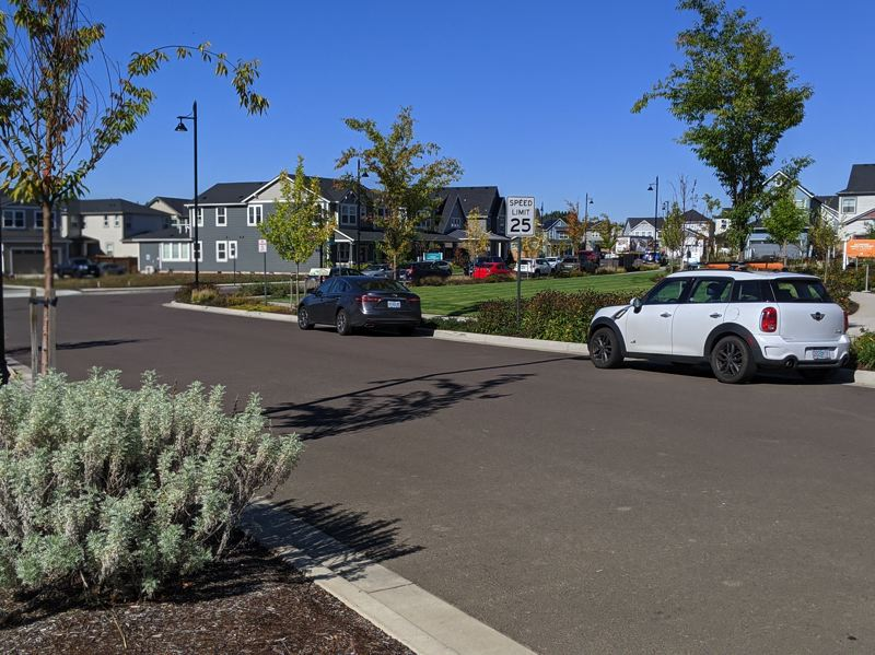 PMG: JOSEPH GALLIVAN - Developers replaced native grasses, because they looked like tall weeds, with traditional lawn at Reeds Crossing in South Hillsboro, a farm-to-gable community that is selling well as people flee big city cores for places with green space and room to work from home.