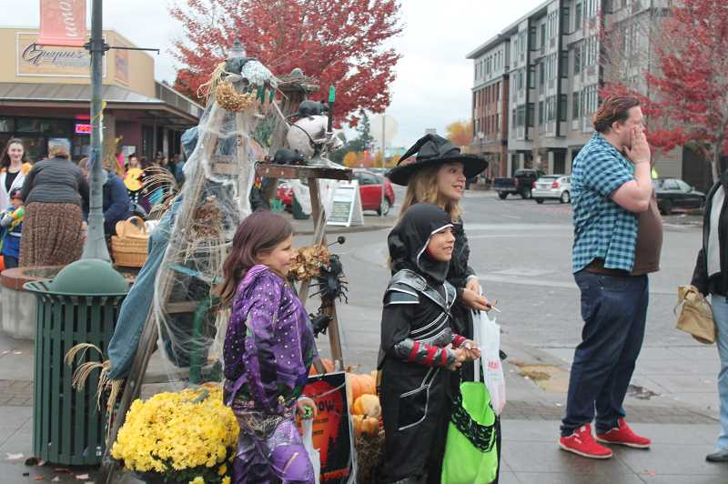 PMG FILE PHOTO - In years' past, the downtown streets of Canby have become quite crowded with costumed candy-seekers.