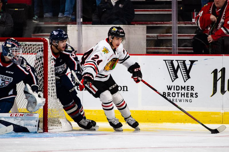 COURTESY PHOTO: PORTLAND WINTERHAWKS - Seth Jarvis had a big second season with the Portland Winterhawks and was rewarded when the Carolina Hurricans picked him 13th in the NHL Draft.