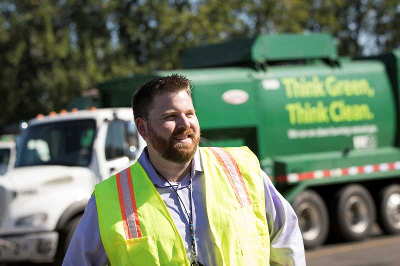 PMG PHOTO: JAIME VALDEZ - Tom Egleston, who has more than 13 years experience in the materials management field, was recently named head of Washington County Solid Waste & Recycling.