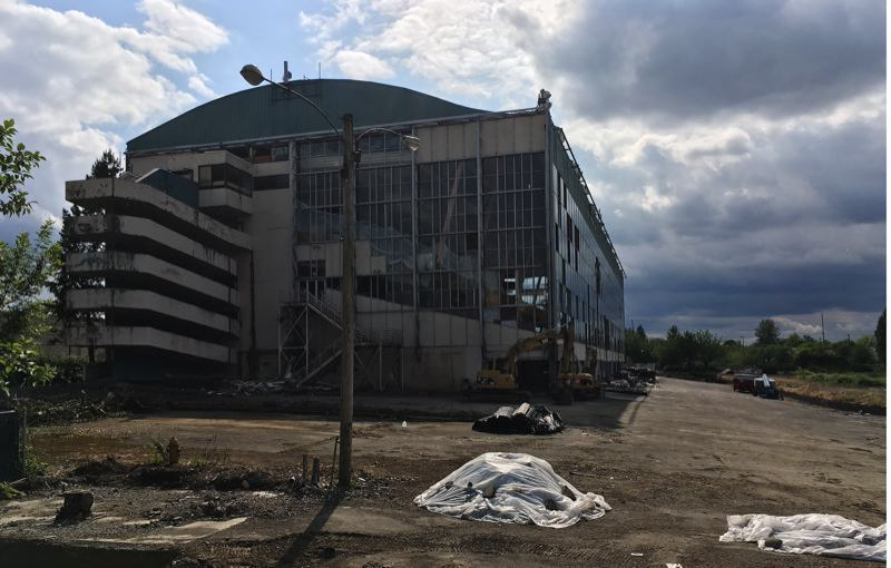 PMG FILE PHOTO - The Grand Ronde Tribe is taking another look at the former Multnomah Greyhound Park as a potential site for a gaming facility.