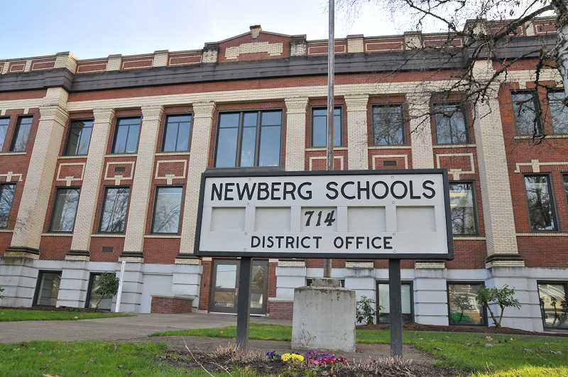PMG FILE PHOTO - The Newberg School District is taking steps to deal with a handful of racist incidents in online classrooms.