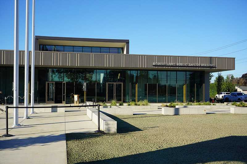 COURTESY PHOTO - Oregon City's Robert Libke Public Safety Building opened this month at 1234 Linn Ave.
