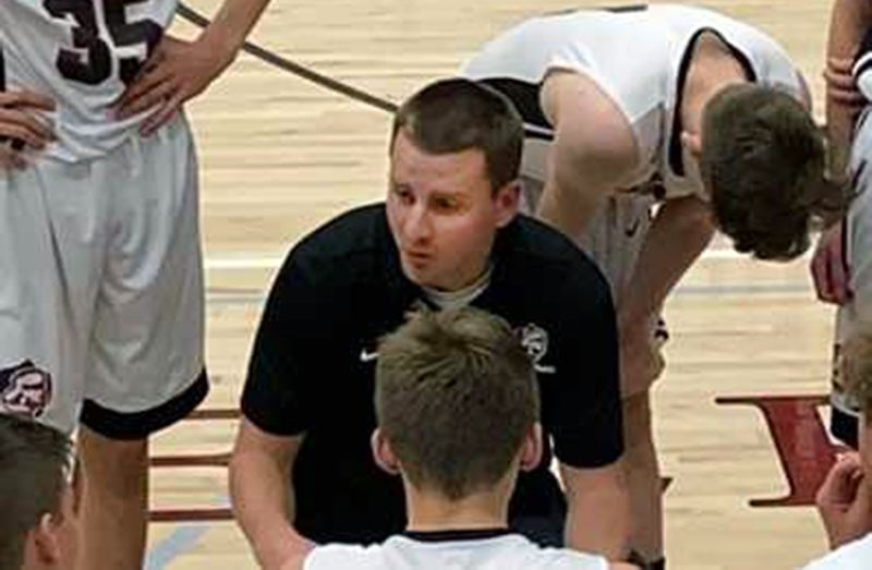 COURTESY PHOTO: OSAATODAY - Sandy High School named former assistant Brock Mueller as its new head boys basketball coach in late September. Mueller succeeds Jason Maki, who left after coaching the Pioneers since 2008.