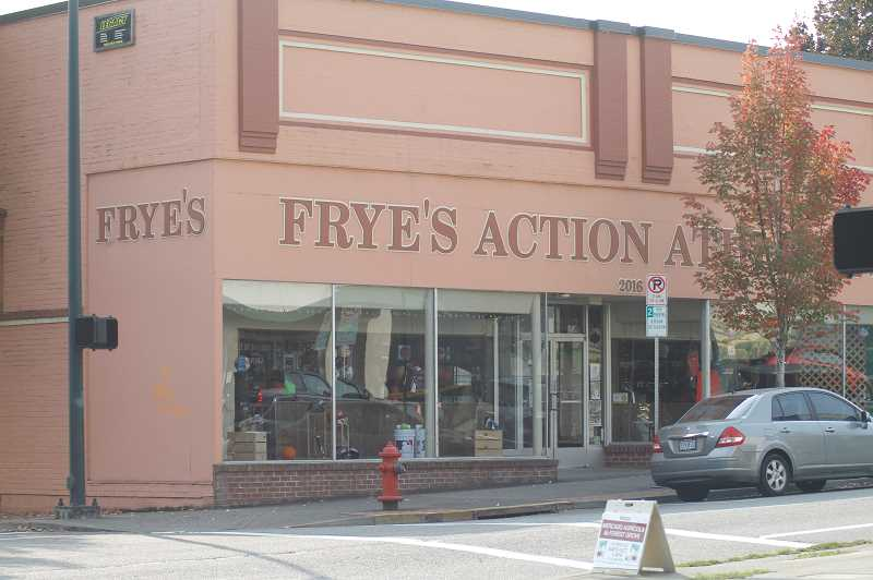 PMG PHOTO: WADE EVANSON - Frye's Action Athletics is one of a number of Forest Grove businesses trying to navigate the difficult waters stemming from the COVID-19 pandemic.