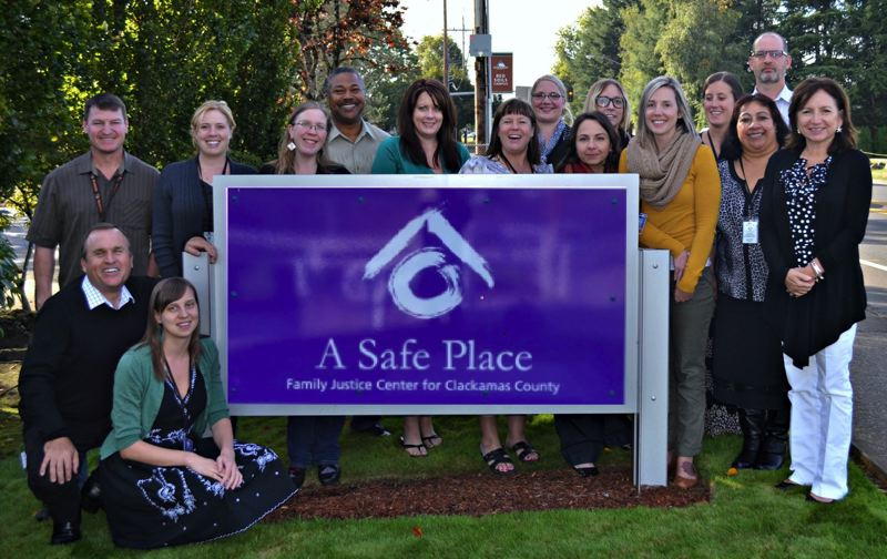 COURTESY PHOTO: A SAFE PLACE FAMILY JUSTICE CENTER - Staff at A Safe Place Family Justice Center will benefit from the vicarious trauma response initiative as partners of Clackamas Women's Services.