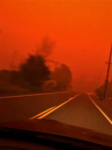 PMG PHOTO: CINDY FAMA - In the Colton area, the alert to evacuate during the Clackamas County wildfires was unexpected and imminent.