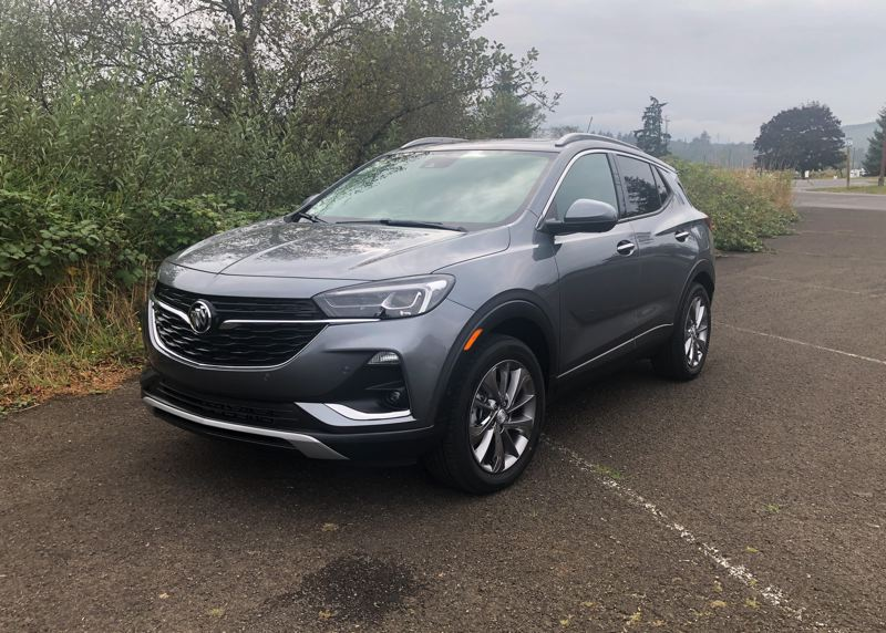PMG PHOTO: JEFF ZURSCHMEIDE - The redesigned 2020 Buick Encore GX is longer and wider than the last generation, givingn the original subcompact luxury crossover more interior room.
