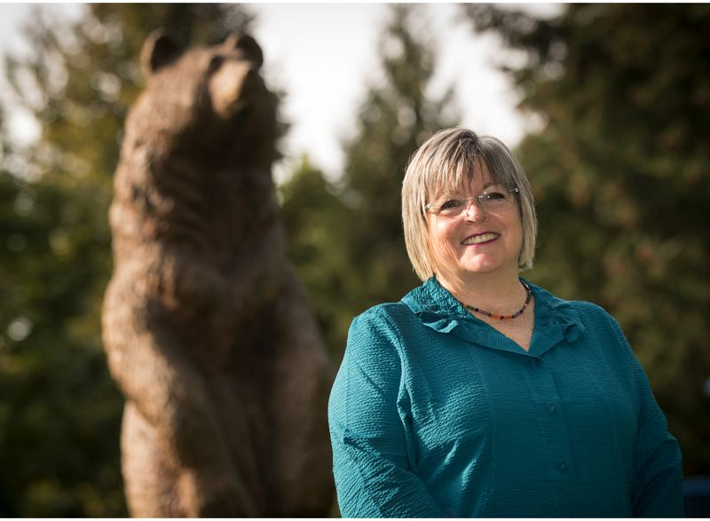 PMG PHOTO: JAIME VALDEZ - Oregon Zoo Foundation Executive Director Julie Fitzgerald is running for mayor of Wilsonville.