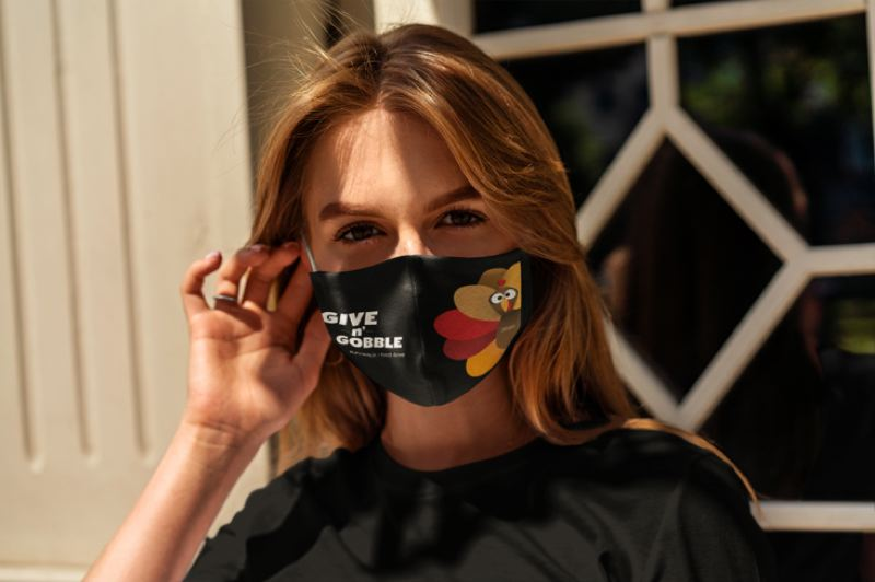COURTESY PHOTO - Give n' Gobble face masks will be provided to the first 1,500 participants.