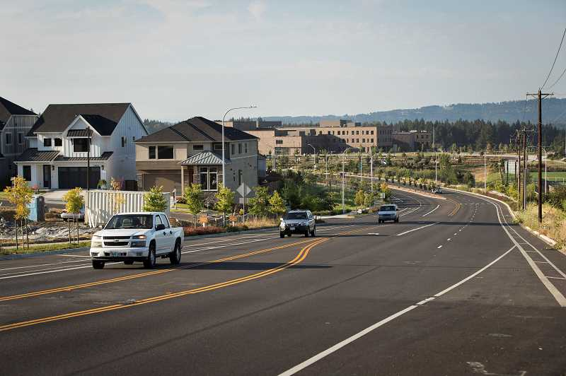 PMG FILE PHOTO - In 2017, Mountainside High School opened at the corner of Southwest 175th Avenue and Scholls Ferry Road. Its at the heart of the South Cooper Mountain area, where people might see more affordable housing units pop up.