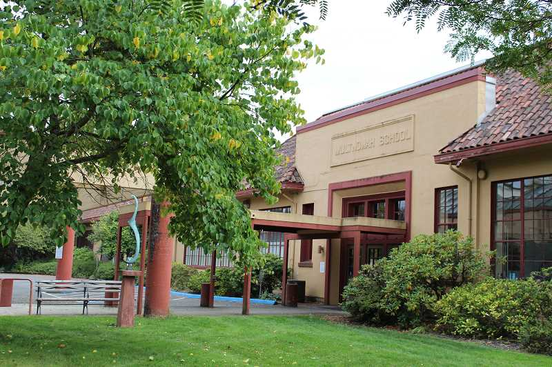 PMG FILE PHOTO - The Multnomah Arts Center in Southwest Portland houses the office of Southwest Neighborhoods Inc. SWNI faces a lawsuit from two residents over public records they say the district coalition should have been legally required to release.
