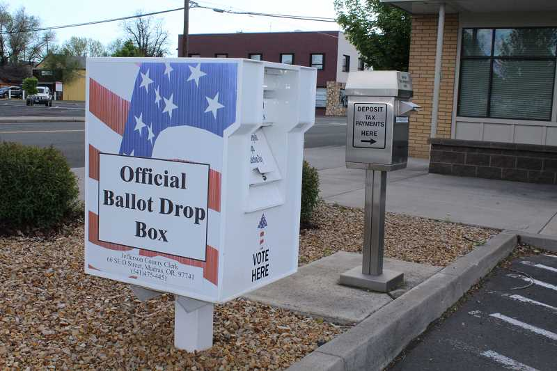 HOLLY GILL/MADRAS PIONEER - Voter registrations are due Tuesday,Oct. 13. Prospective voters can register at www.oregonvotes.org.
