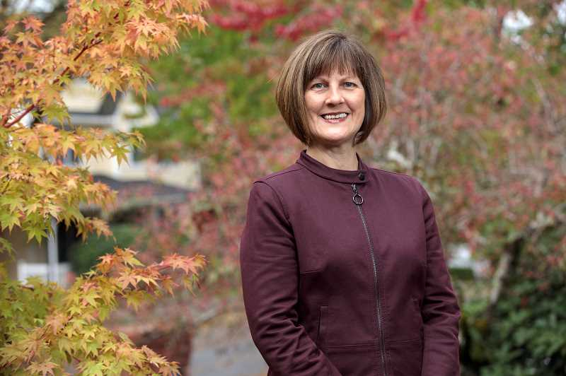 PMG PHOTO: JONATHAN HOUSE - Vicki Olson is one of ten candidates seeking a spot on West Linn's City Council in November's election.