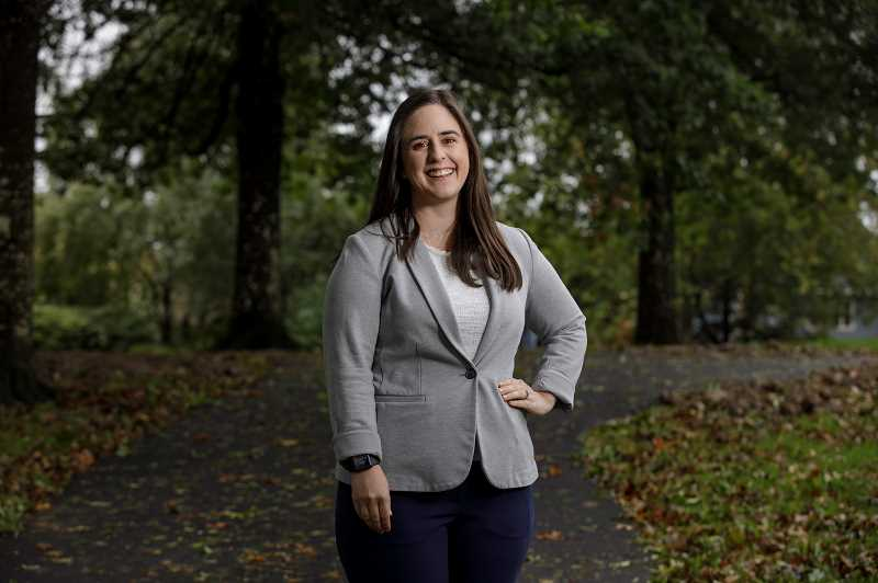 PMG PHOTO: JONATHAN HOUSE - Jenny Koll, a candidate for West Linn City Council, hopes to improve communication between the city and its citizens.