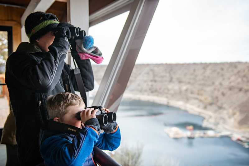 PHOTOS COURTESY OF OREGON PARKS AND RECREATION DEPARTMENT - The Eagle Watch event was held each winter at The Cove Palisades State Park for nearly 25 years. The festival was a way for families to observe and celebrate Central Oregon's birds of prey. Organizers are reinventing the event, which will begin in 2022.