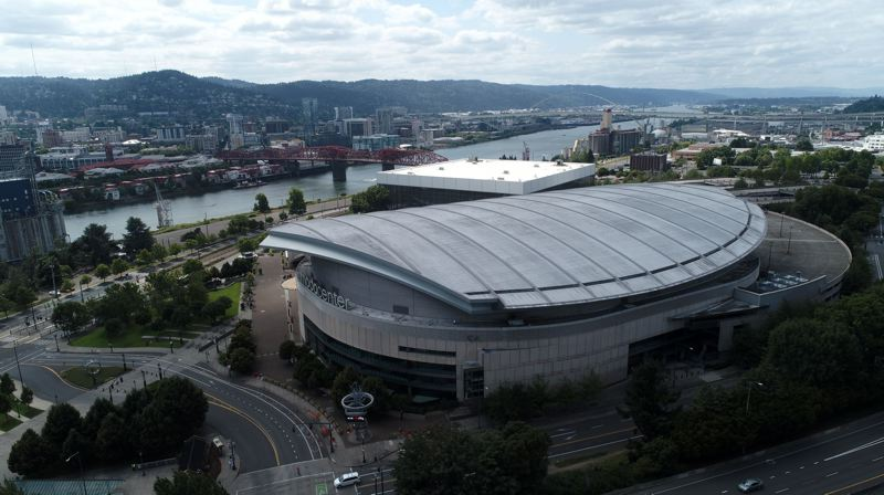 PMG FILE PHOTO - Moda Center and the Rose Quarter were awrded a women's basketball regional in 2024 and men's first- and second-round games in 2026, but lost out on bids to host a NCAA Women's Final Four.