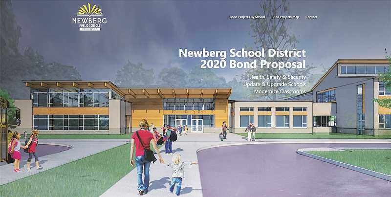 COURTESY PHOTO: NEWBERG SCHOOOL DISTRICT - The Newberg School District has launch an informational website in the run-up to the Nov. 3 general election.