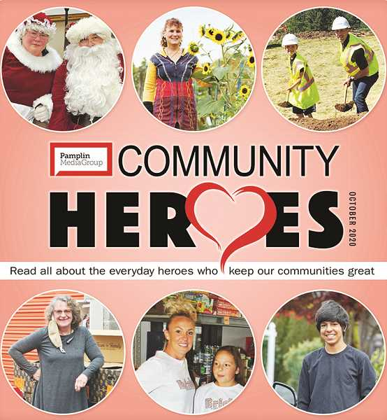 PMG PHOTO - More than 20 stories in special section feature people that have gone above and beyond in service to their communities