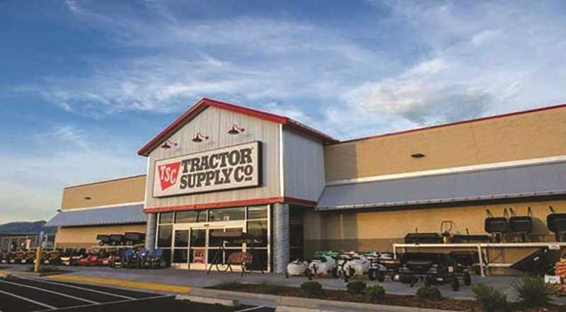 COURTESY PHOTO: TRACTOR SUPPLY COMPANY - Molalla Tractor Suppply will officially open Oct. 24.