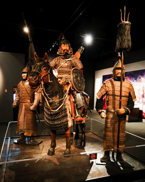 COURTESY PHOTO: OMSI - 'The Life & Legacy of Genghis Khan' examines the life of the warrior who helped conquer parts of Europe, Middle East and Asia.