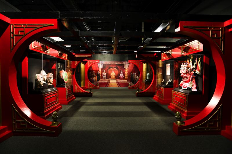 COURTESY PHOTO: OMSI - There are many artifacts and images in 'The Life & Legacy of Genghis Khan' exhibit at OMSI.