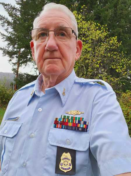 COURTESY PHOTO: LONNY JOHNSON - Colton's Lonny Johnson is U.S. Coast Guard veteran who served amid the Vietnam War, was part of one of the largest drug busts in West Coast history and retired as a senior chief petty officer.