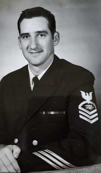 COURTESY PHOTO: LONNY JOHNSON - Lonny Johnson joined the U.S. Coast Guard by mistake in 1957. He served until 1978.