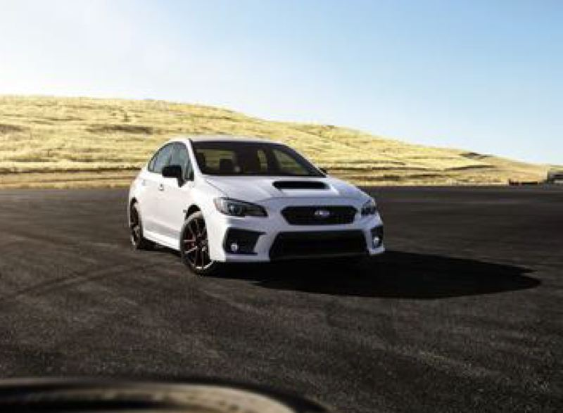 COURTESY SUBARU - As the name suggests, the limited edition 2020 Subaru WRX Series.White is only available with special ceramic white paint and a host of series performance upgrades.