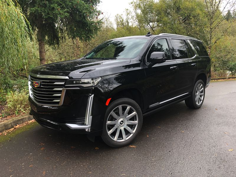 PMG PHOTO: JEFF ZURSCHMEIDE - The 2021 Cadillac Escalade is the peak of General Motor's luxury, with plenty of power and the most advanced technology ever offered.