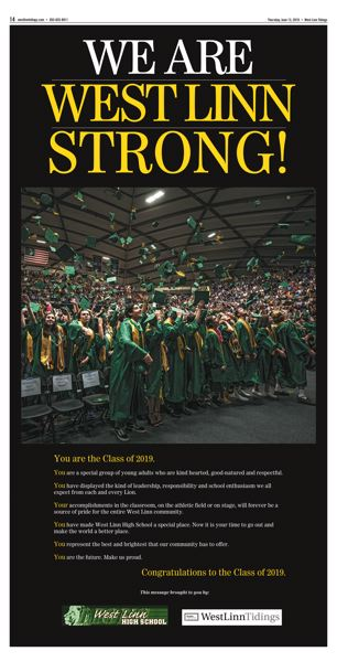 First Place - Daily and Non-daily division - Best use of local photography in ads - Jon House and J. Brian Monihan